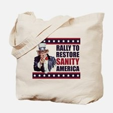 Rally to Restore Sanity America Tote Bag