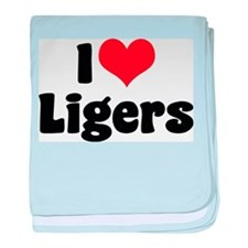 I Love Ligers Infant Blanket