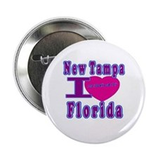 """New Tampa Florida 33647 2.25"""" Button (100 pack)"""