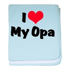 I Love My Opa Infant Blanket