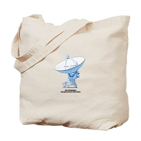 cosmic lotus dream Tote Bag