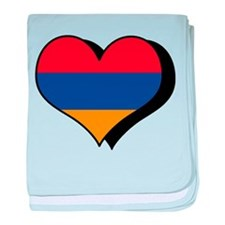 I Love Armenia Infant Blanket