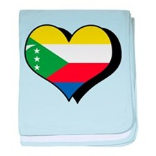 I Love Comoros Infant Blanket