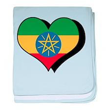 I Love Ethiopia Infant Blanket