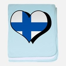 I Love Finland Infant Blanket