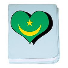 I Love Mauritania Infant Blanket