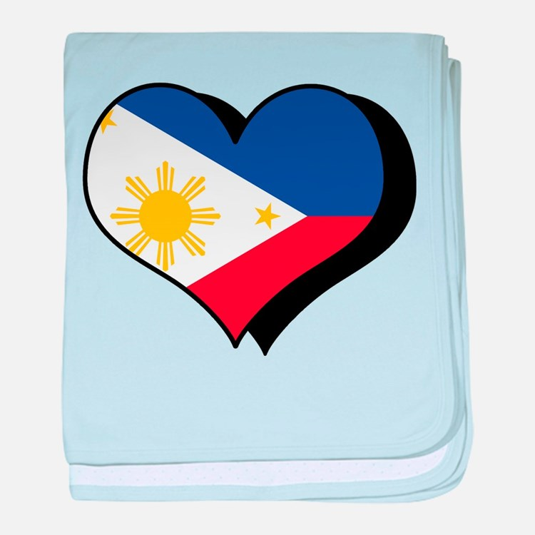 I Love The Philippines Infant Blanket