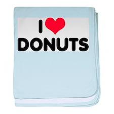 I Love Donuts 2 Infant Blanket