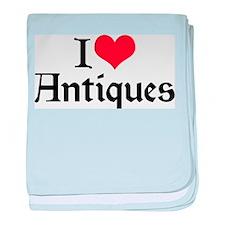 I Love Antiques 2 Infant Blanket