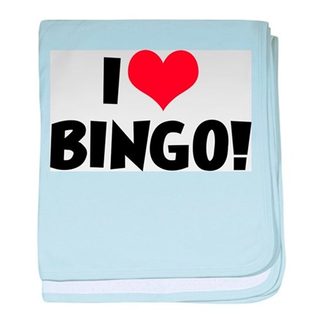 I Love Bingo 2 Infant Blanket
