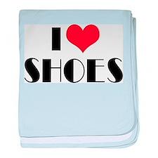 I Love Shoes Infant Blanket