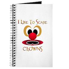 I Like To Scare Clowns Journal