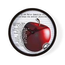 Apple Theory Wall Clock