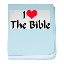 I Love The Bible 2 Infant Blanket