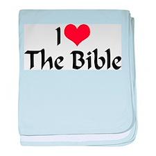 I Love The Bible 2 Infant Blanket