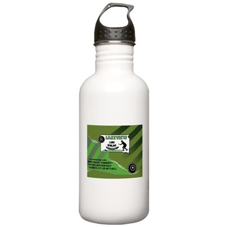 Lakeview Lawn Bowling Stainless Water Bottle 1.0L
