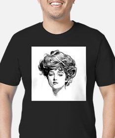 Gibson Girl Ash Grey T-Shirt