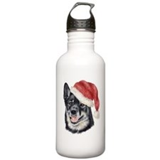 Christmas Lapponian Herder Water Bottle