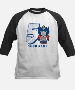 Transformers 5 Optimus Prime Kids Baseball Jersey