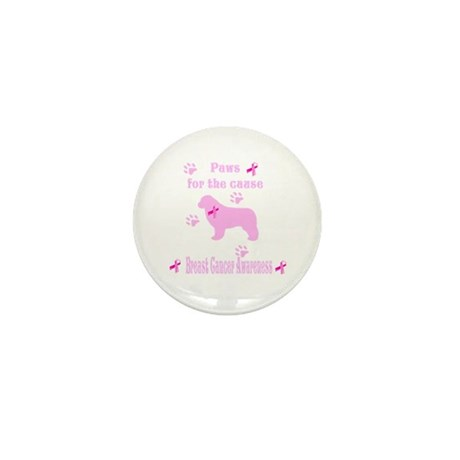 Paws For The Cause Mini Button (10 pack)