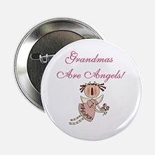 Grandmas Are Angels Button