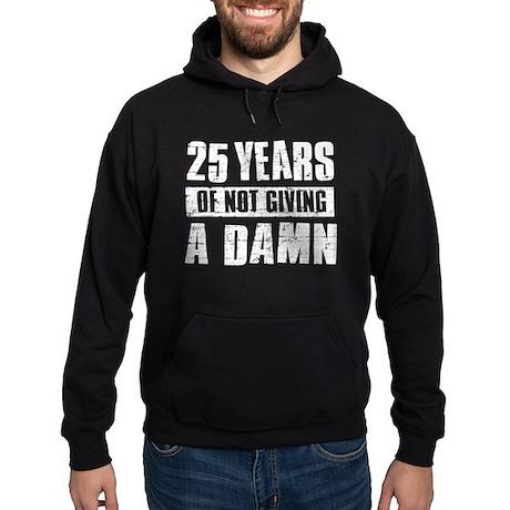 25 years of not giving a damn Hoodie (dark)