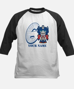 Transformers 6 Optimus Prime Kids Baseball Jersey