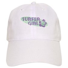 More Surfer Girl Baseball Cap