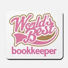 Worlds Best Bookkeeper Mousepad