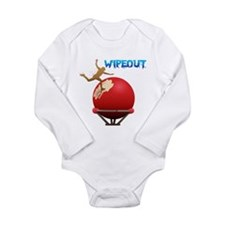 Wipout Long Sleeve Infant Bodysuit