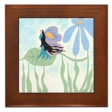 Waiting Fairy Framed Tile