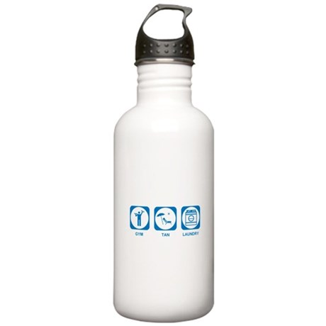 Gym Tan Laundry Stainless Water Bottle 1.0L