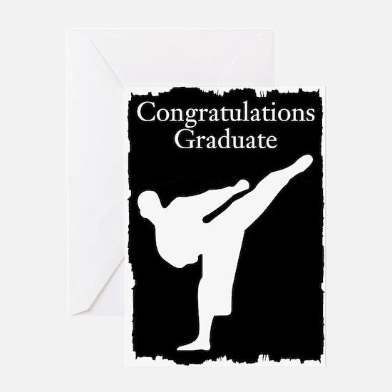 Karate Graduate Greeting Cards