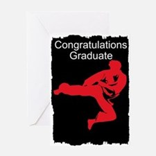 Karate School Graduate Greeting Cards
