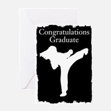 Martial Arts Graduate Greeting Cards