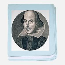 Wm Shakespeare baby blanket