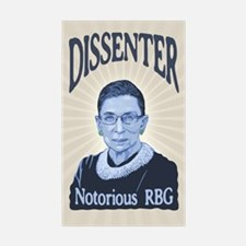 Notorious Dissenter Decal