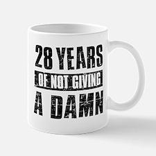 28 years of not giving a damn Mug