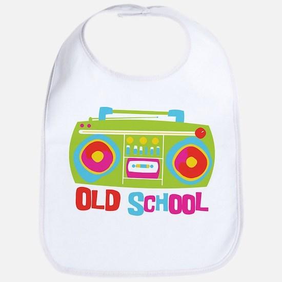 Old School Boom Box Bib