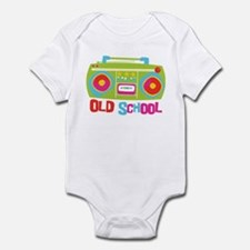 Old School Boom Box Infant Bodysuit