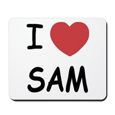 I heart Sam Mousepad