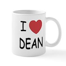 I heart Dean Mug