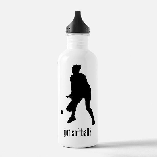 Softball Water Bottle