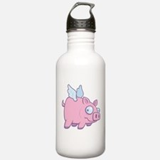 If Pigs Could Fly Water Bottle