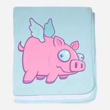 If Pigs Could Fly Infant Blanket