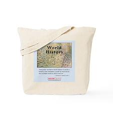 World History Shopping/Tote Bag