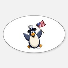 American Penguin Decal