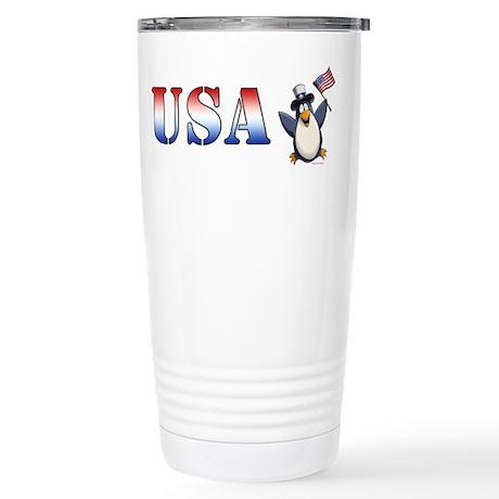 American Penguin Stainless Steel Travel Mug