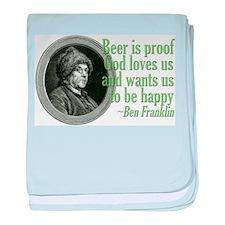 Beer, Love, God Infant Blanket
