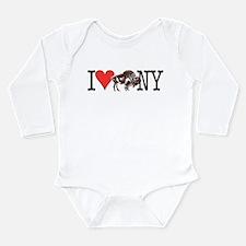 Love Buffalo Long Sleeve Infant Bodysuit